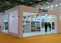 fuar reklam organizasyon Fuar Reklam Organizasyon GIPTA Group Fuar Stand 260x185