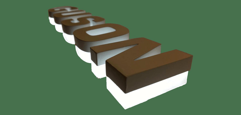 [object object] Deneme GUSON Bronz Kutu Harf 1